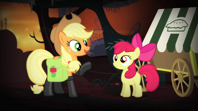 """File:Applejack 'she don't need somepony like me"""" S4E17.png"""
