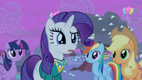 Rarity 'And, for all her babbling' S4E14