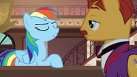"""Rainbow """"everything Daring Do's ever done actually happened!"""" S6E13"""