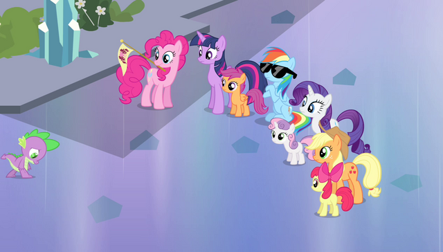"File:Twilight and friends acting ""casual"" S4E24.png"