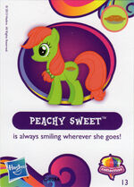 Wave 10 Peachy Sweet collector card