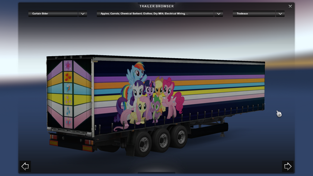File:FANMADE ETS2 Pete 389 Custom - Pinkie Pie Skin 11.png