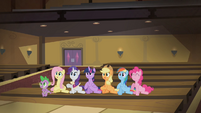 Mane 6 stomping their hooves S4E08