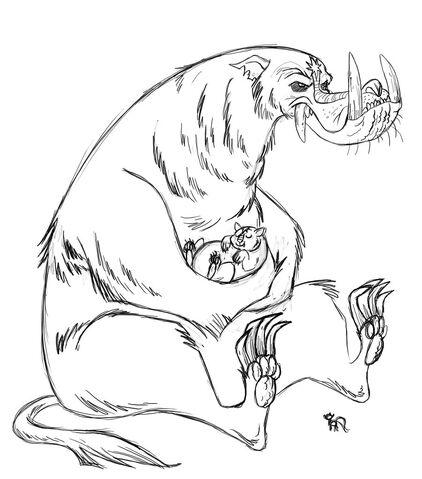 Plik:Ursa scary by fyre flye-d4axk45.jpg