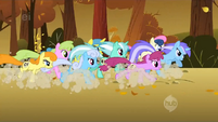 The running ponies of the leaves S1E13