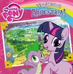 My Little Pony Welcome to Equestria! storybook cover