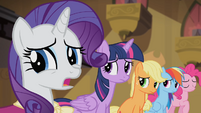 Rarity 'It will keep me away...' S4E08