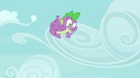 Spike falling after bubble pops S4E25