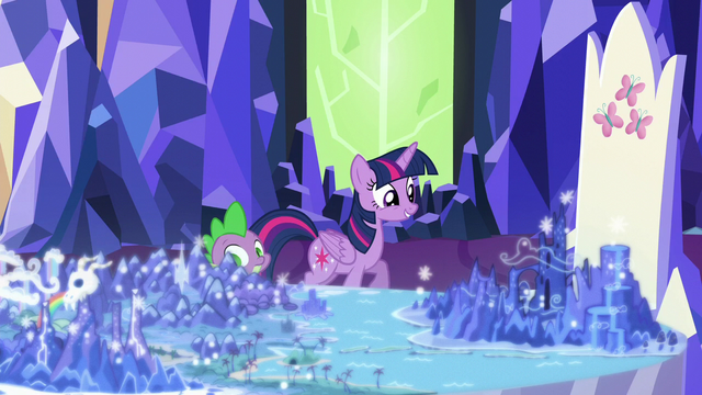 File:Twilight trots up to the Cutie Map S5E16.png