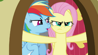 Fluttershy not looking happy S2E21