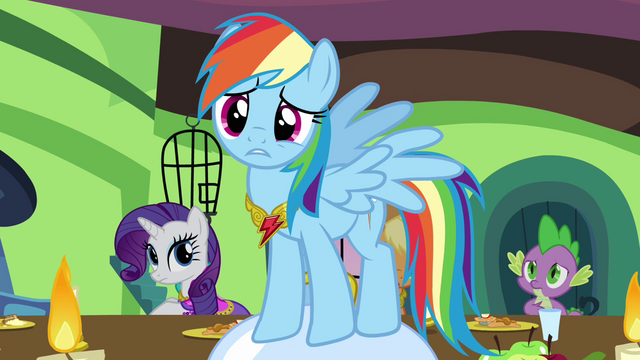 File:Rainbow Dash pleads with Fluttershy S03E10.png