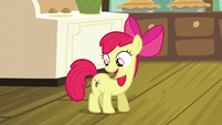 Apple Bloom shaking her flank S5E04