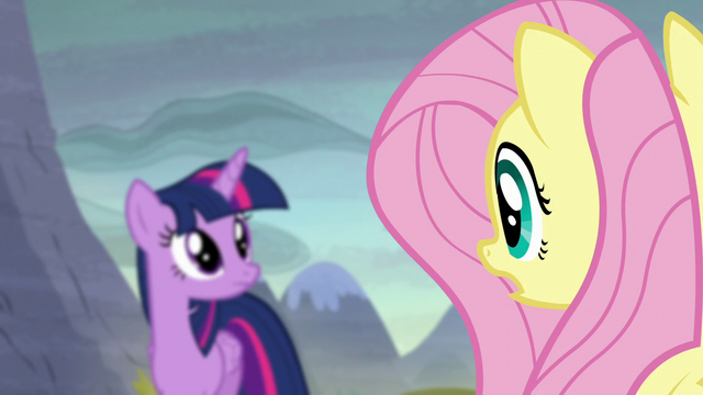 "File:Fluttershy ""they know what happened here!"" S5E23.png"