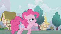 Pinkie Pie thinking hard S1E05