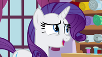 "Rarity ""I would be happy to suggest"" S4E18"