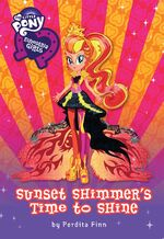 Sunset Shimmer's Time to Shine book cover