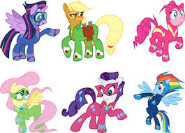 File:FANMADE Power ponies.jpg