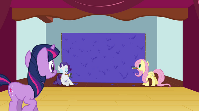 File:Twilight looking at painted wall S3E03.png