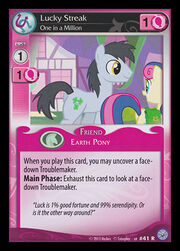 Lucky Streak, One in a Million card MLP CCG