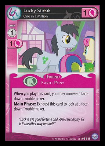 File:Lucky Streak, One in a Million card MLP CCG.jpg