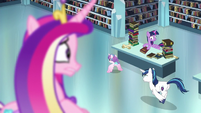 Shining Armor seen chasing Flurry Heart S6E2