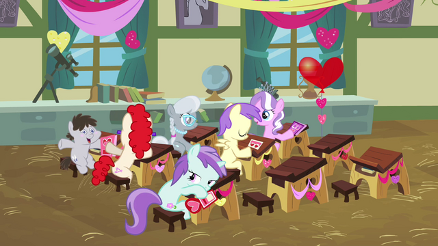 File:Cheerilee's class celebrating 1 S2E17.png