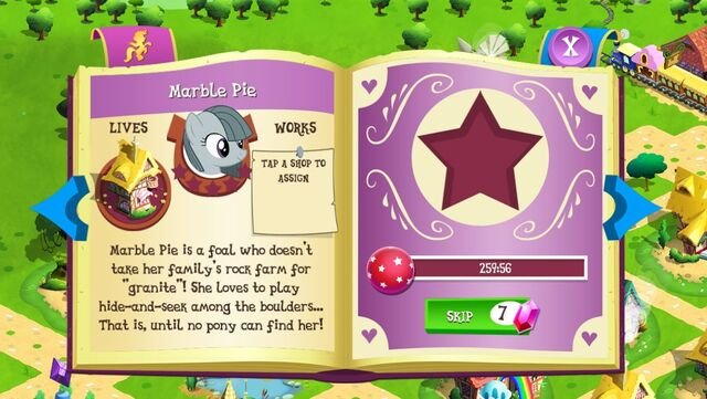 File:Marble Pie album page MLP mobile game.jpg
