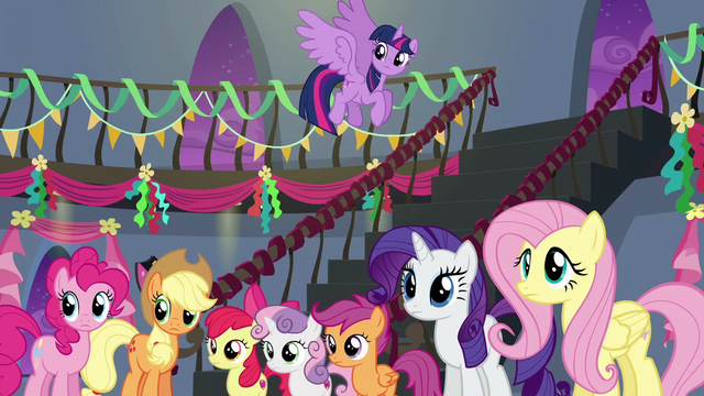 File:Main five and CMC look at Rainbow S6E7.png
