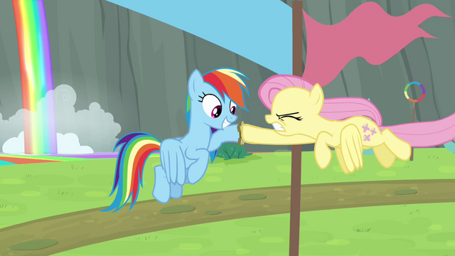 File:Fluttershy passes baton to Rainbow S4E10.png