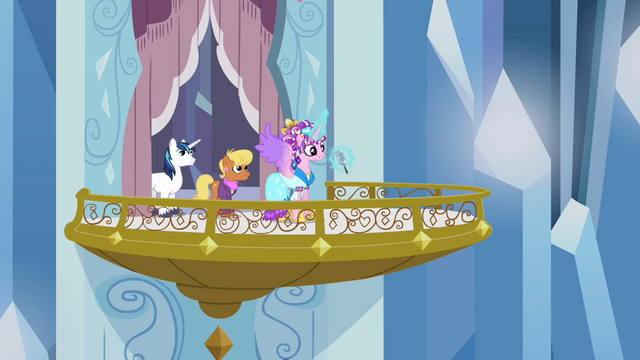 File:Princess Cadance announcing the Equestria Games to be held in the Crystal Empire S3E12.png