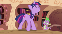 "Twilight Sparkle ""Before sundown"" S2E03"