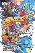 MLPFIM 9 BronyCon - Comics World RE Cover