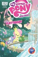 MLPFIM Fluttershy Micro Larry's Comics RE Cover