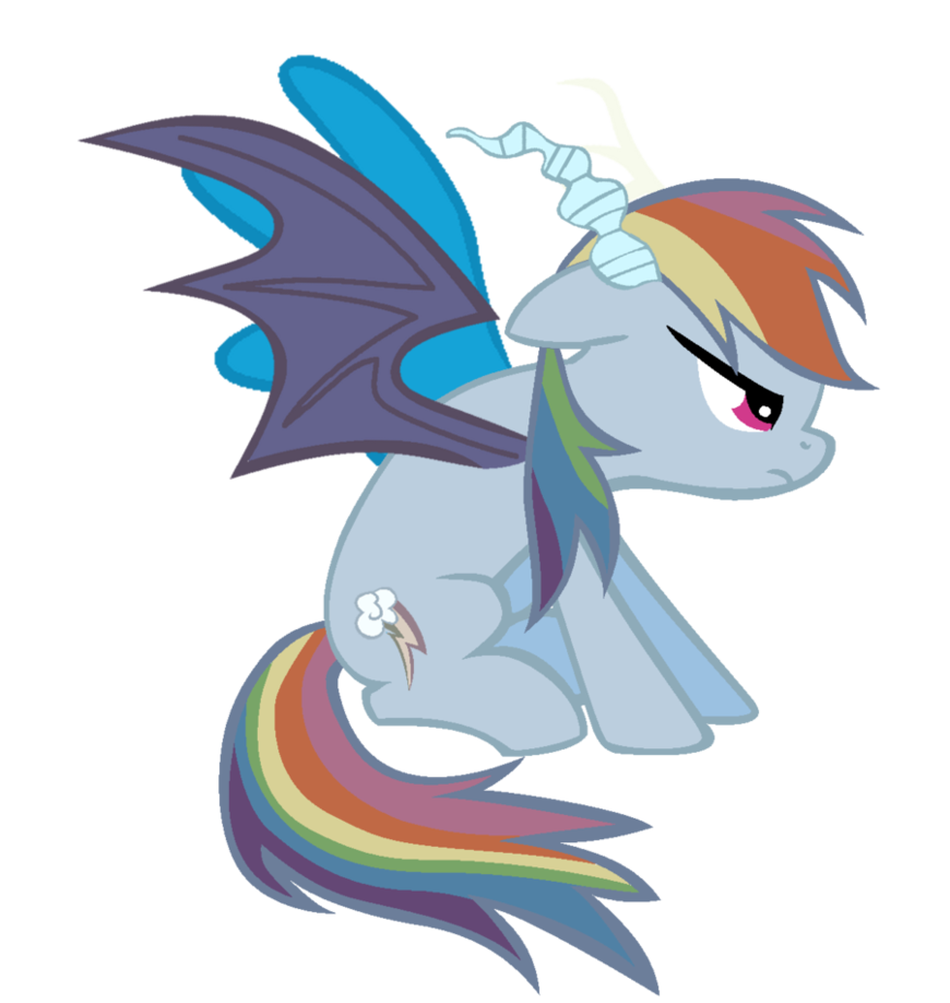 Image - Rainbow Dash the betrayer by bronyboy.png | My ...