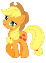 Mlp fim applejack vector by drawingdye-d5gz3pa
