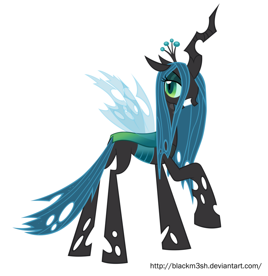 My Little Pony Queen Chrysalis Coloring Pages : Image queen chrysalis by blackm sh d ml my