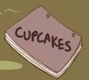 Ponies Reads Cupcakes Cover by musapan