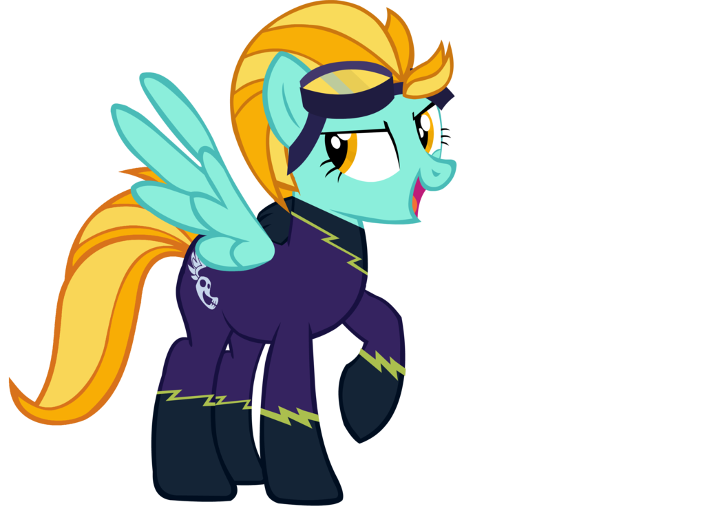 Image - Lightning Dust Shadowbolt by TheLuckyPegasus511