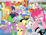 Pony bus omgweregonnadie by shutterflye