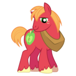 Big macintosh 2nd best pony by redink853-d5w47ka