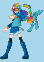Rainbow Dash by sapphire1010
