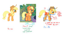 Hitbox design Applejack Fighting is Magic