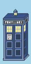 Doctor Whooves' TARDIS sprite