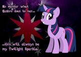 Twilight Sparkle in safe
