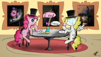 Tea time with Pinkie and Surprise by prosper58