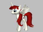 Lauren Faust 3D Pony from Ponylumen