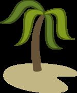 Palm island cutie mark by rildraw