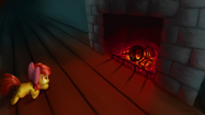 Sotb the fireplace by cyberdrace-d5frrqj