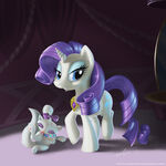 Rarity with her EoH necklace