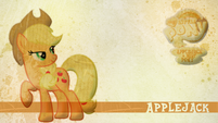 Applejack wallpaper by artist-candy-muffin